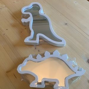 Two-Piece Dinosaur Miirors